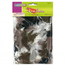 CK-450008 - Assrt Quill Feathers Natural Color in Feathers