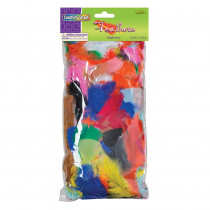 CK-4502 - Feathers Bright Hues 1 Oz Bag in Feathers