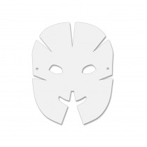 CK-4652 - Dimensional Paper Masks 40Pk in Art & Craft Kits