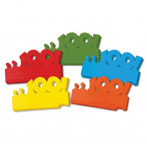 CK-4670 - My First 100 Days Paper Crowns 25Pk in Crowns