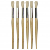 CK-5151 - Natural Brush Set Of 6 in Paint Brushes