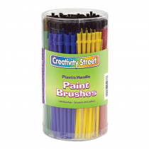 CK-5173 - Economy Brushes 144-Pk 24 Each Of 6 Colors in Paint Brushes