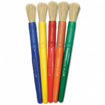 CK-5901 - Colossal Brushes Set Of 5 Assorted Colors in Paint Brushes
