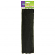 CK-71123 - Chenille Stems Black 12 Inch in Chenille Stems