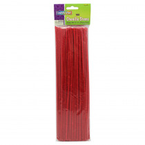 CK-71126 - Chenille Stems Red 12 Inch in Chenille Stems