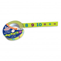 CK-9317 - Teach & Tear Math Tape in Measurement