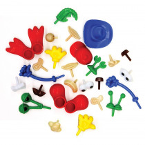CK-9660 - Modeling Dough And Clay Body Parts Accessories in Dough & Dough Tools