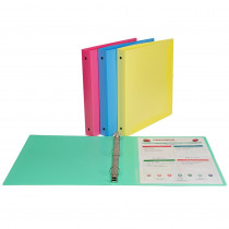 CLI31710 - C Line 3 Ring Binder 1In Capacity in Folders