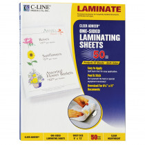 CLI65001 - C Line Cleer Adheer 50Box Laminating Sheets in Laminating Film
