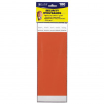 CLI89102 - Security Wristbands Orange in Accessories