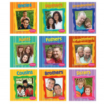 CPB9781429629799 - Families Books Set Of All 10 in Social Studies