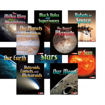 CPB9781429672313 - The Solar System & Beyond Book Set Of 10 in Science