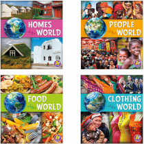 CPB9781491470350 - Go Go Global Book Set Of 4 in Environment