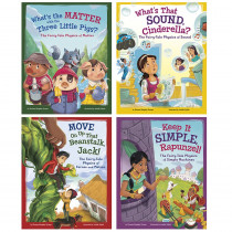 CPB9781515829157 - Stem Twisted Fairy Tales Set Of 4 Books in Classroom Favorites