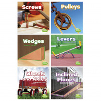 CPB9781543500974 - Simple Machines Books Set Of 6 in Simple Machines