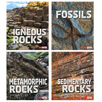 CPB9781543527322 - Rocks Book Set Set Of 4 in Science