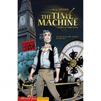 CPB9781598898897 - The Time Machine Graphic Novel in Classics