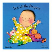 CPY9780859536103 - Ten Little Fingers Board Book in Big Books