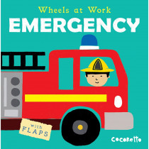 CPY9781786280800 - Wheels At Work Board Book Emergency in Big Books