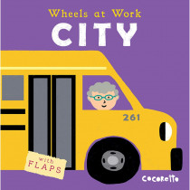 CPY9781786280817 - Wheels At Work Board Books City in Big Books