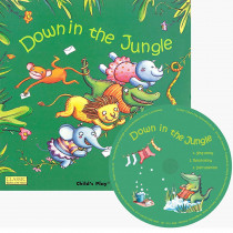 CPY9781846436239 - Down In The Jungle Classic Books With Holes Plus Cd in Book With Cassette/cd