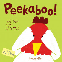 CPY9781846438646 - Peekaboo Board Books On The Farm in Big Books