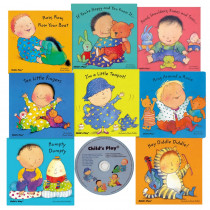 CPYCPBB - Nursery Rhyme Board 8 Bk Set W/ Cd in Book With Cassette/cd