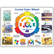 CRP6033 - Crystal Color Wheel in Art Lessons