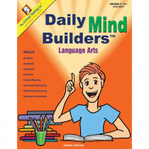 CTB04601BBP - Daily Mind Builders Language Arts Gr 5-12 in Books