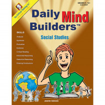 CTB04603BBP - Daily Mind Builders Social Studies Gr 5-12 in Books
