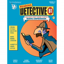CTB1509 - Reading Detective Book B Gr 7-9 in Books