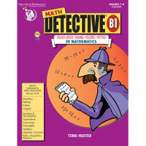 CTB3903 - Math Detective Book B1 Gr 7-12 in Books