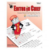 CTB9708 - Editor In Chief Beginning 1 in Editing Skills