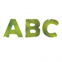 CTP0300 - Leaves Punchout Uppercase Letters in Letters