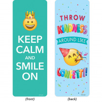CTP0449 - Emoji Fun Quotes Bookmarks Motivational in Bookmarks