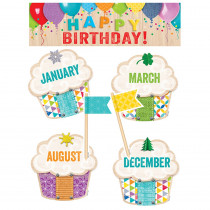 CTP0599 - Happy Birthday Mini Bulletin Board Set Upcycle Style in Miscellaneous