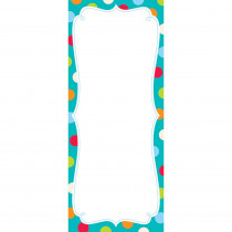 CTP0629 - Dots On Turquoise Note Pad in Note Pads