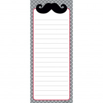 CTP0635 - Mustache Fun Note Pad in Note Books & Pads