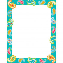 CTP0979 - Paisley Chart in Classroom Theme