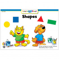 CTP10100 - Shapes Cat And Dog Learn To Read in Learn To Read Readers