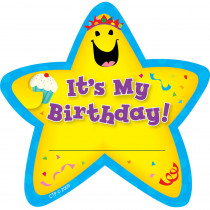 CTP1075 - Star Badges Its My Birthday 36/Pk in Badges