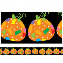 CTP1102 - Poppin Patterns Pumpkins Border in Holiday/seasonal