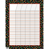 CTP1321 - Dots On Black Incentive Chart in Incentive Charts