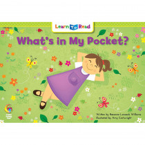 CTP13535 - Whats In My Pocket Learn To Read in Learn To Read Readers