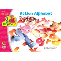 CTP1360 - Action Alphabet Sing Along/Read Along W/ Dr Jean Pk-1 in Reading Skills