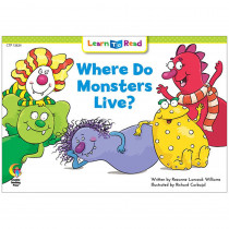 CTP13624 - Where Do Monsters Live Learn Toread in Learn To Read Readers