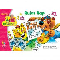CTP1362 - Rules Rap Sing Along/Read Along Word Jean Pk-1 in Reading Skills