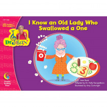 CTP1366 - I Know An Old Lady Who Swallowed A One Sing Along/Read W/ Dr Jean in Reading Skills