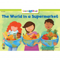 CTP13907 - The World In A Supermarket Learn To Read in Learn To Read Readers
