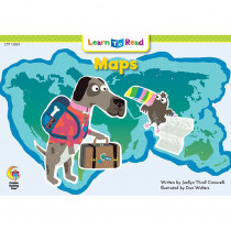 CTP13929 - Maps Learn To Read in Learn To Read Readers